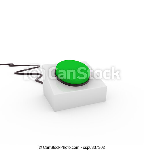 3d button - csp6337302