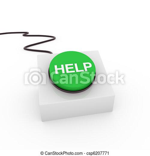 3d button help - csp6207771