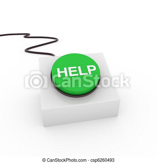 3d button help - csp6260493