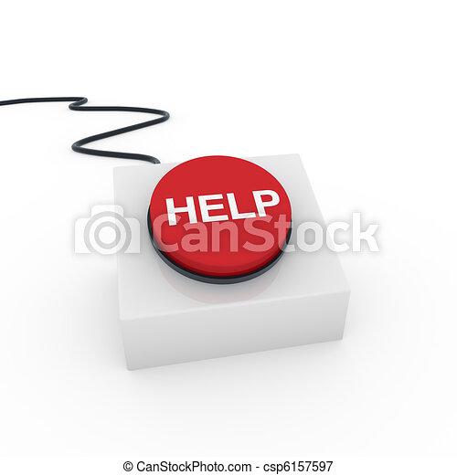 3d button help - csp6157597