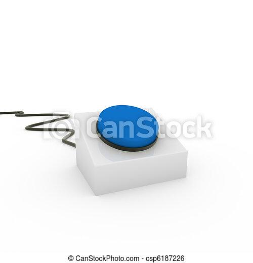 3d button - csp6187226
