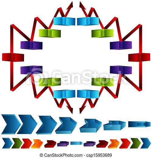 La cadena de suministro 3D - csp15953689