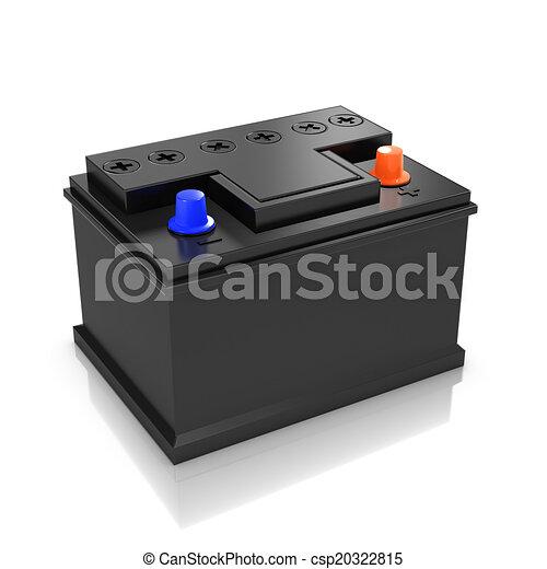 3d Car battery - csp20322815