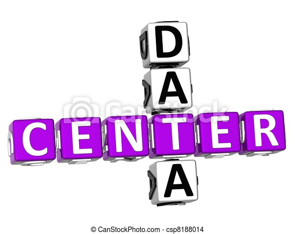 3D Center Data Crossword - csp8188014