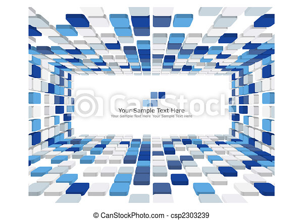 3d checked background - csp2303239