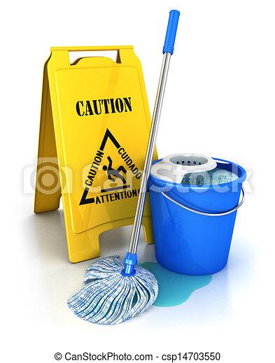 3d cleaning equipment - csp14703550
