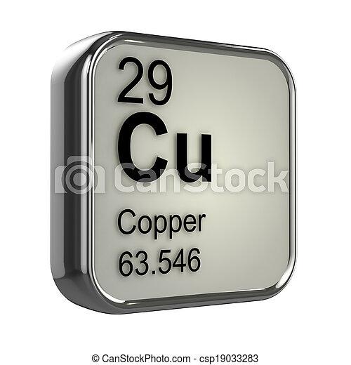 3d Copper element - csp19033283