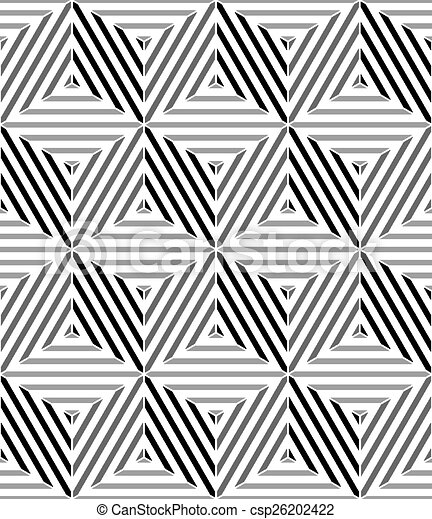 3d cubes seamless pattern geometric vector background