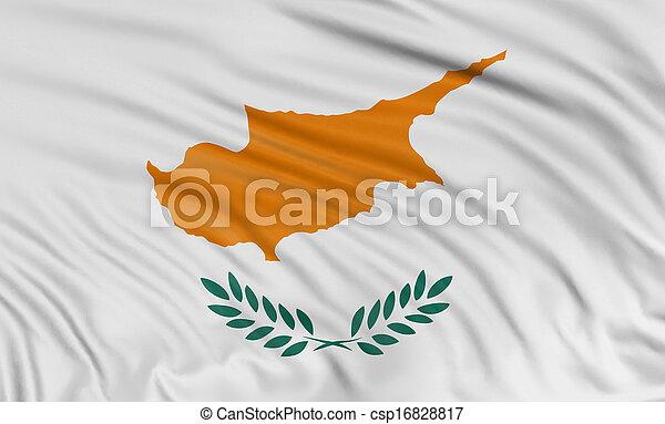 3D Cyprus flag - csp16828817