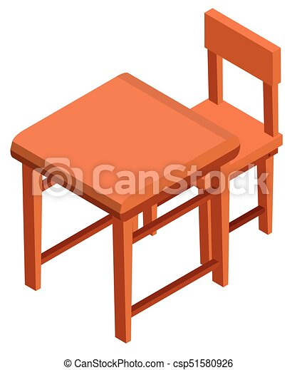 3d design for desk and chair illustration vector illustration rh canstockphoto com furniture clip art free furniture clip art free