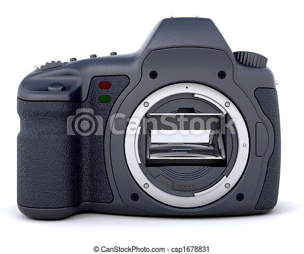 3D Digital camera - csp1678831