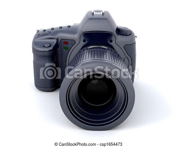 3D Digital camera - csp1654473