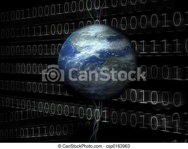 3D digital universe - csp0163963