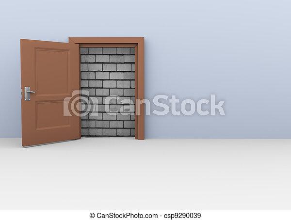 3d door to no way - csp9290039
