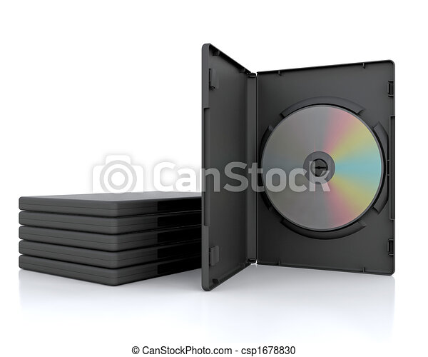 3D DVD Case  - csp1678830