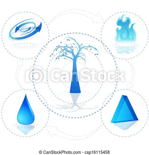 3d Ecosystem - csp16115458