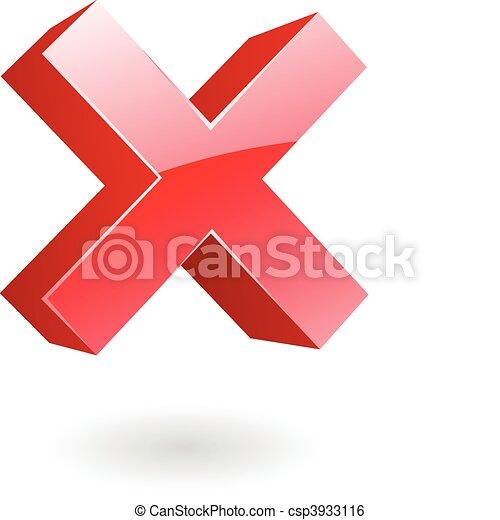 3d error sign - csp3933116
