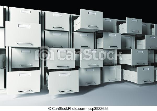 3d file cabinet - csp3822685