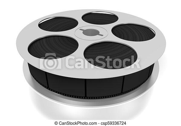 3D film reel - csp59336724