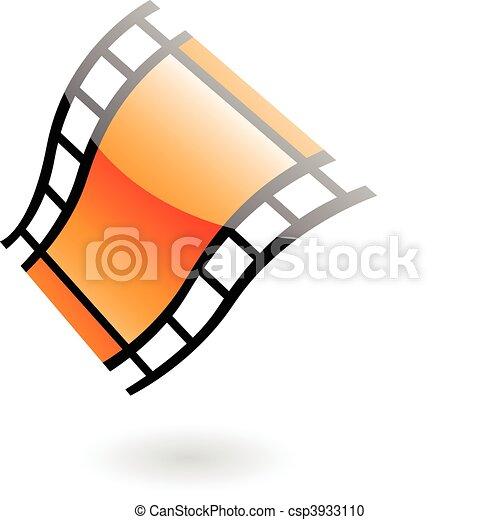 3d film reel - csp3933110