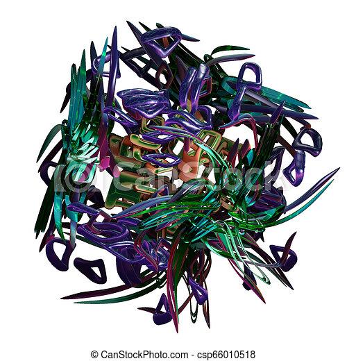 3d fractal, - csp66010518