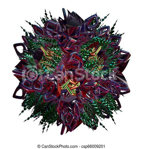 3d fractal, - csp66009201