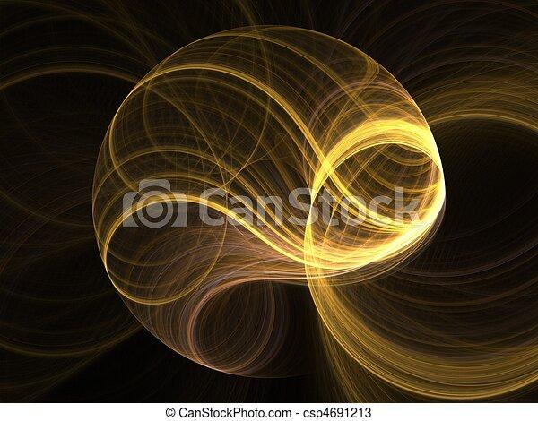 3D fractal - csp4691213