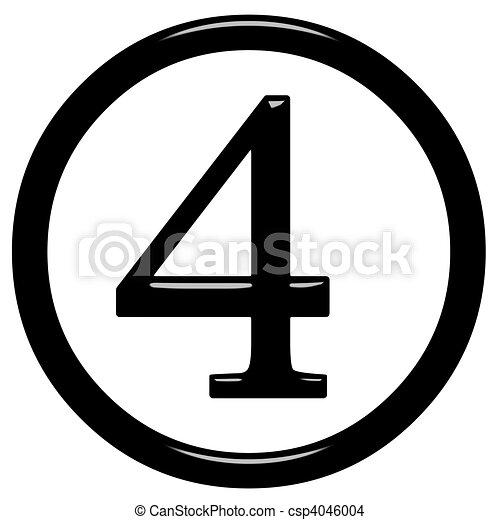 3d framed number 4 illustrations and stock art 311 3d framed number