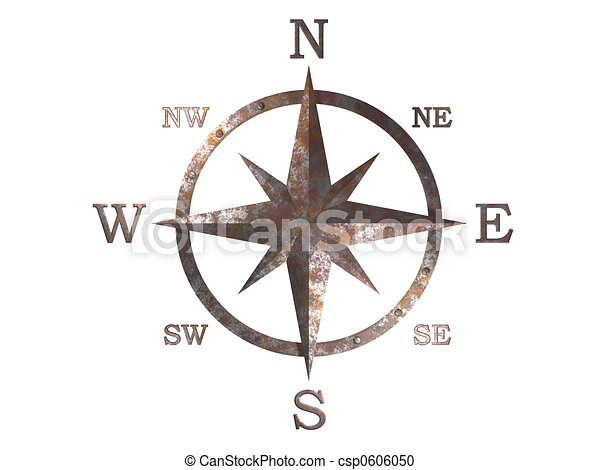 3D generated compass - csp0606050