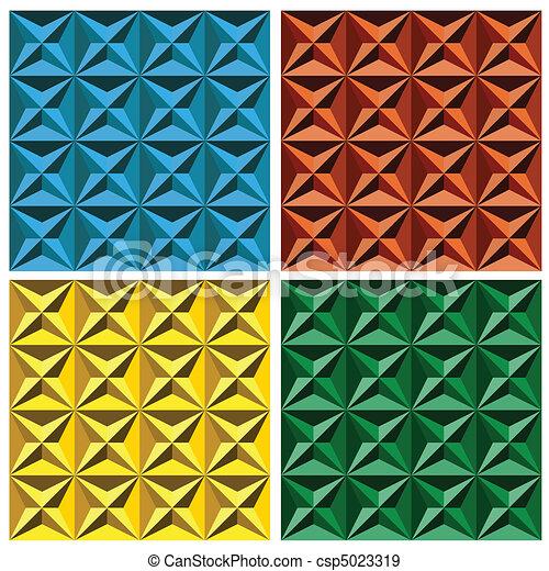 3d Geometric Seamless Pattern - csp5023319