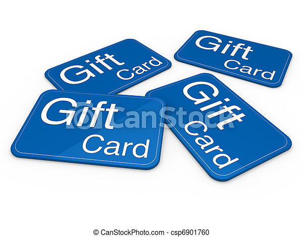 3d gift card blue - csp6901760