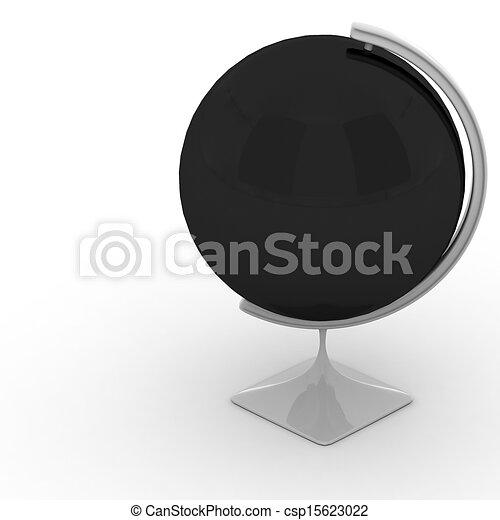 3D Globe - csp15623022