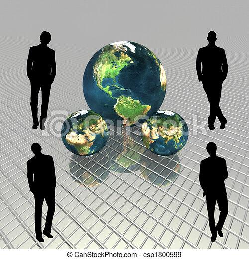 3D globe - csp1800599