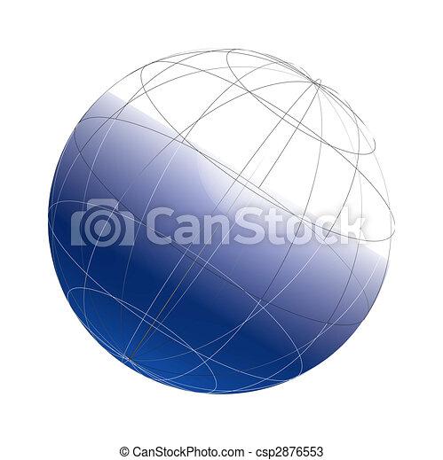 3d globe framework - csp2876553