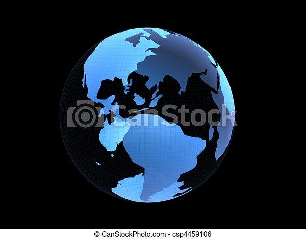 3d globe - csp4459106