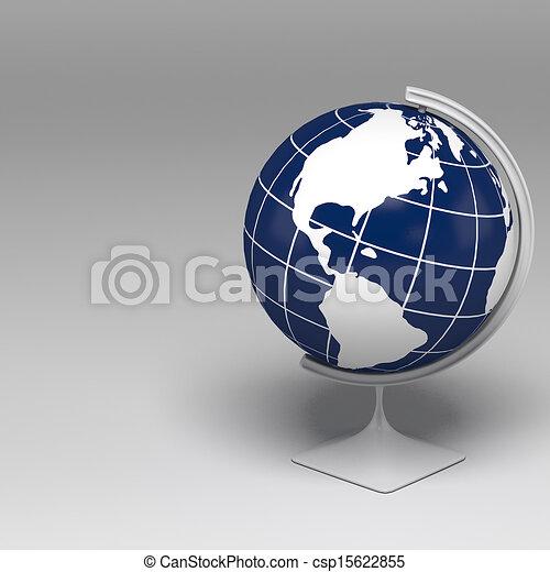 3D Globe - csp15622855