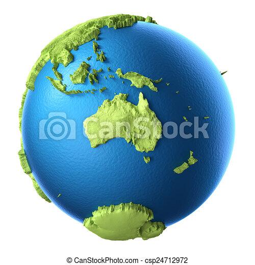 3D Globe - csp24712972