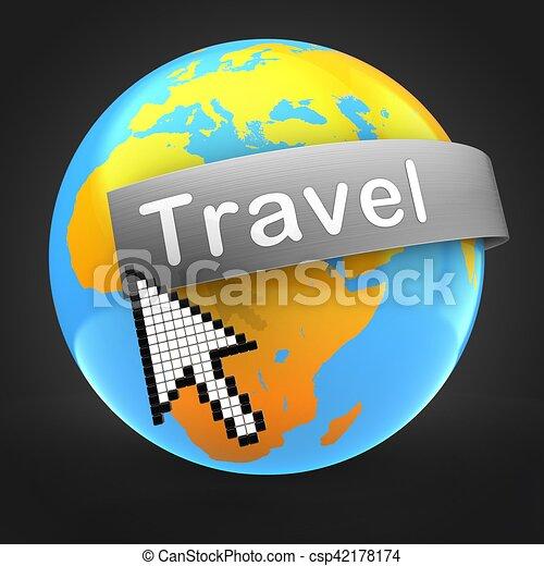 3d globe world earth icon map 3d planet international