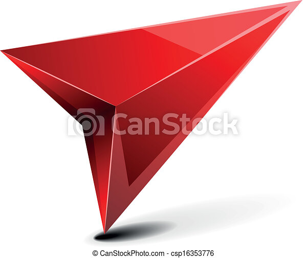 3D GPS Arrow - csp16353776