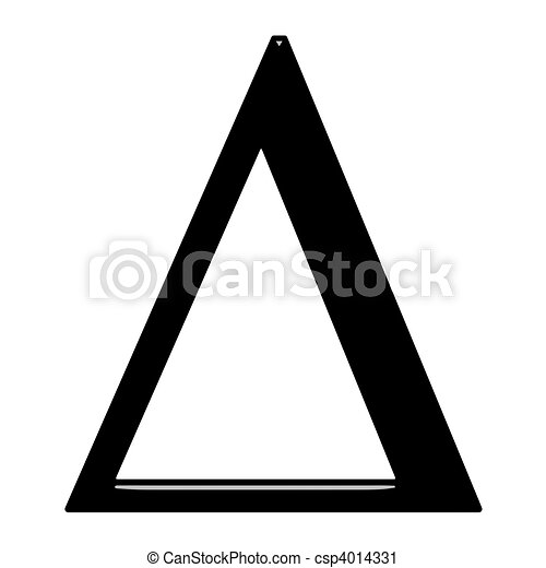 3d greek letter delta isolated in white clipart Search