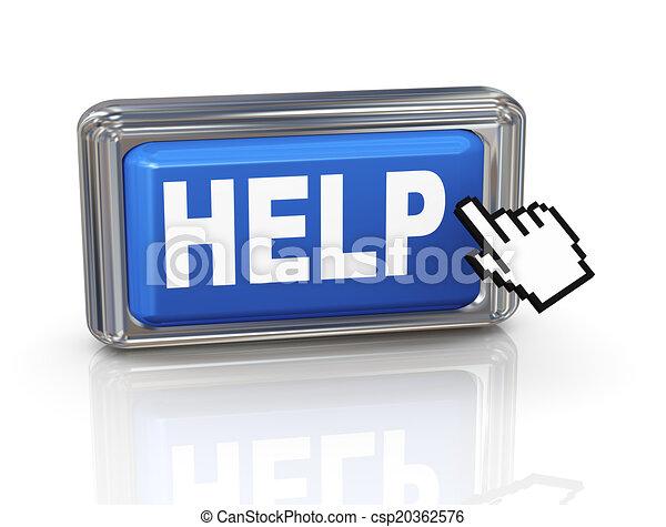 3d hand cursor button - help - csp20362576