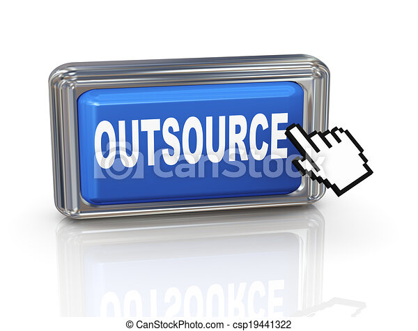 3d hand cursor button - outsource - csp19441322