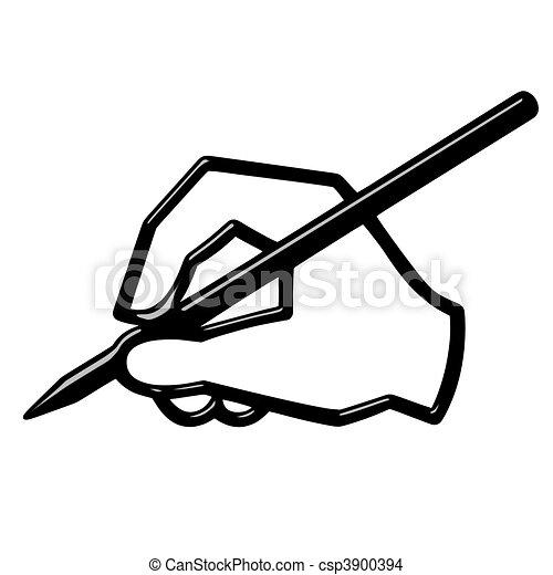 3D Hand Writing - csp3900394