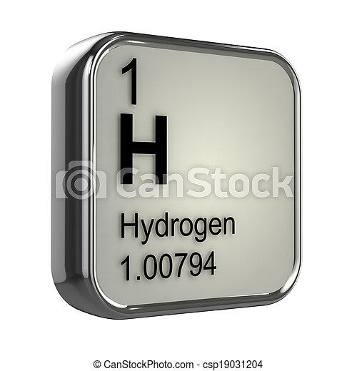 3d hidrgeno elemento render elemento tabla peridica 3d hidrgeno elemento csp19031204 urtaz Images