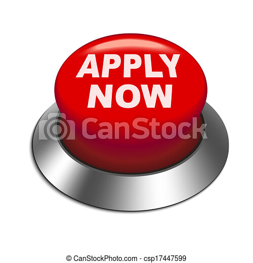 3d illustration of apply now button - csp17447599