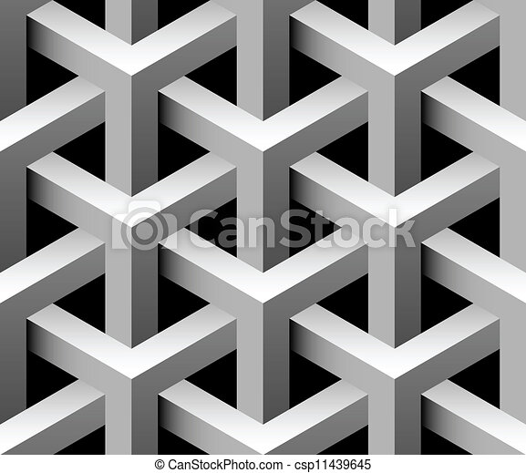 3d industrial seamless vector tile - csp11439645