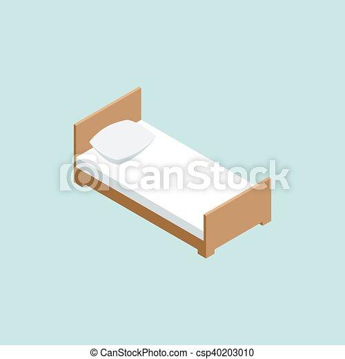 3D isometric bed - csp40203010
