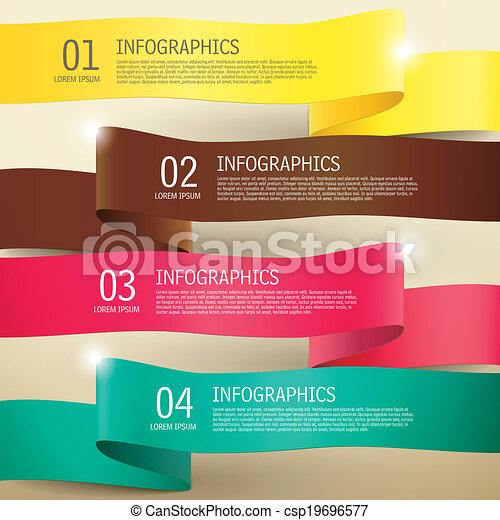 D Label Infographic Elements D Modern Vector Abstract  Vectors