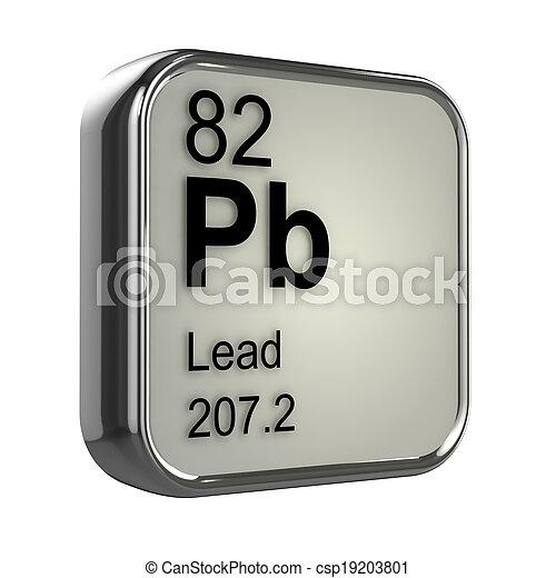 3d Lead element - csp19203801