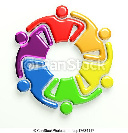 3D Logo Business Icon - csp17634117